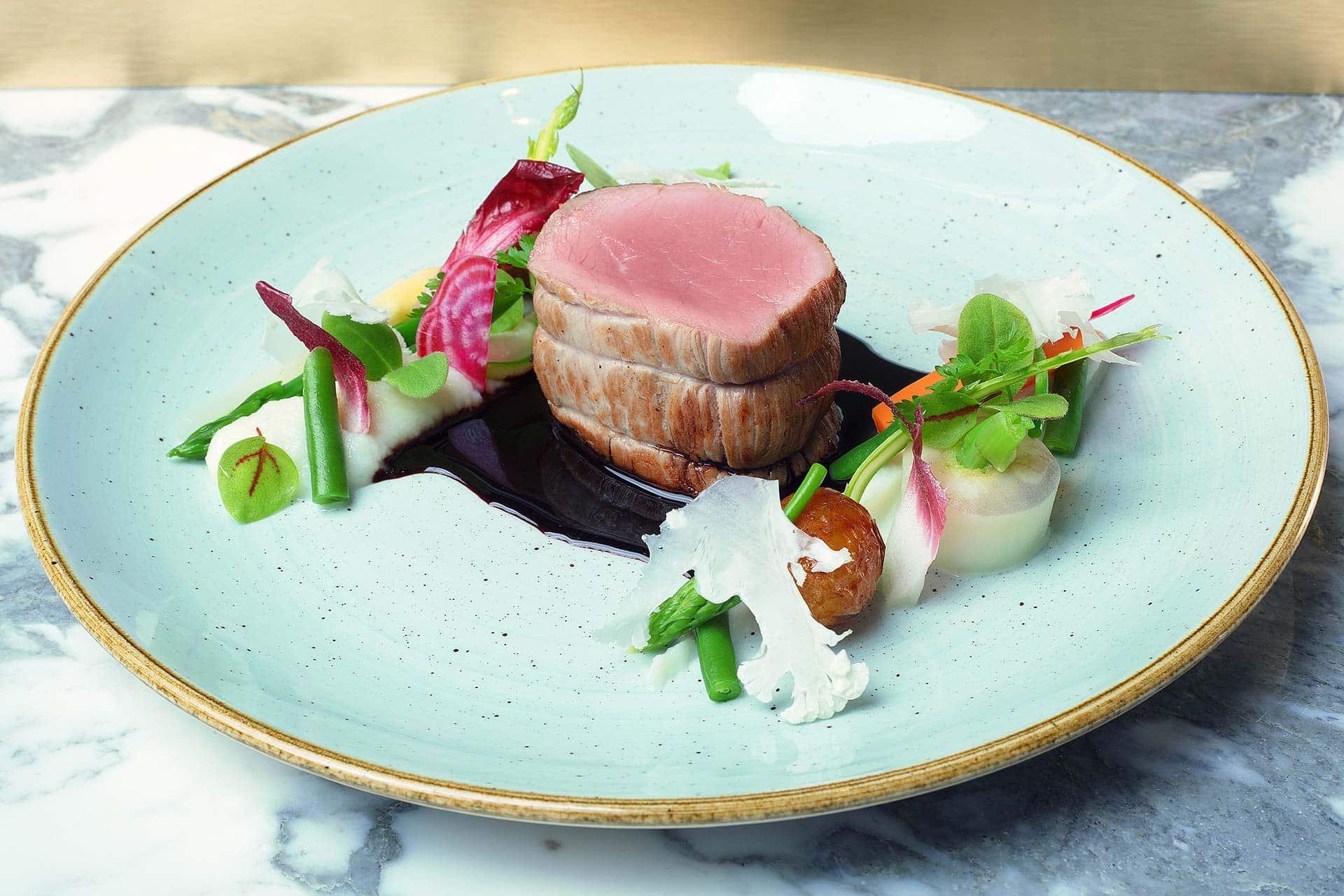 Un menu Fusion révélant la magie du goût, aussi bien côté viandes que poisson