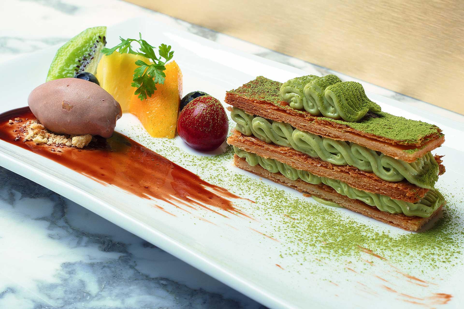 Desserts puisant dans les classiques Français avec de belles touches Japonaises