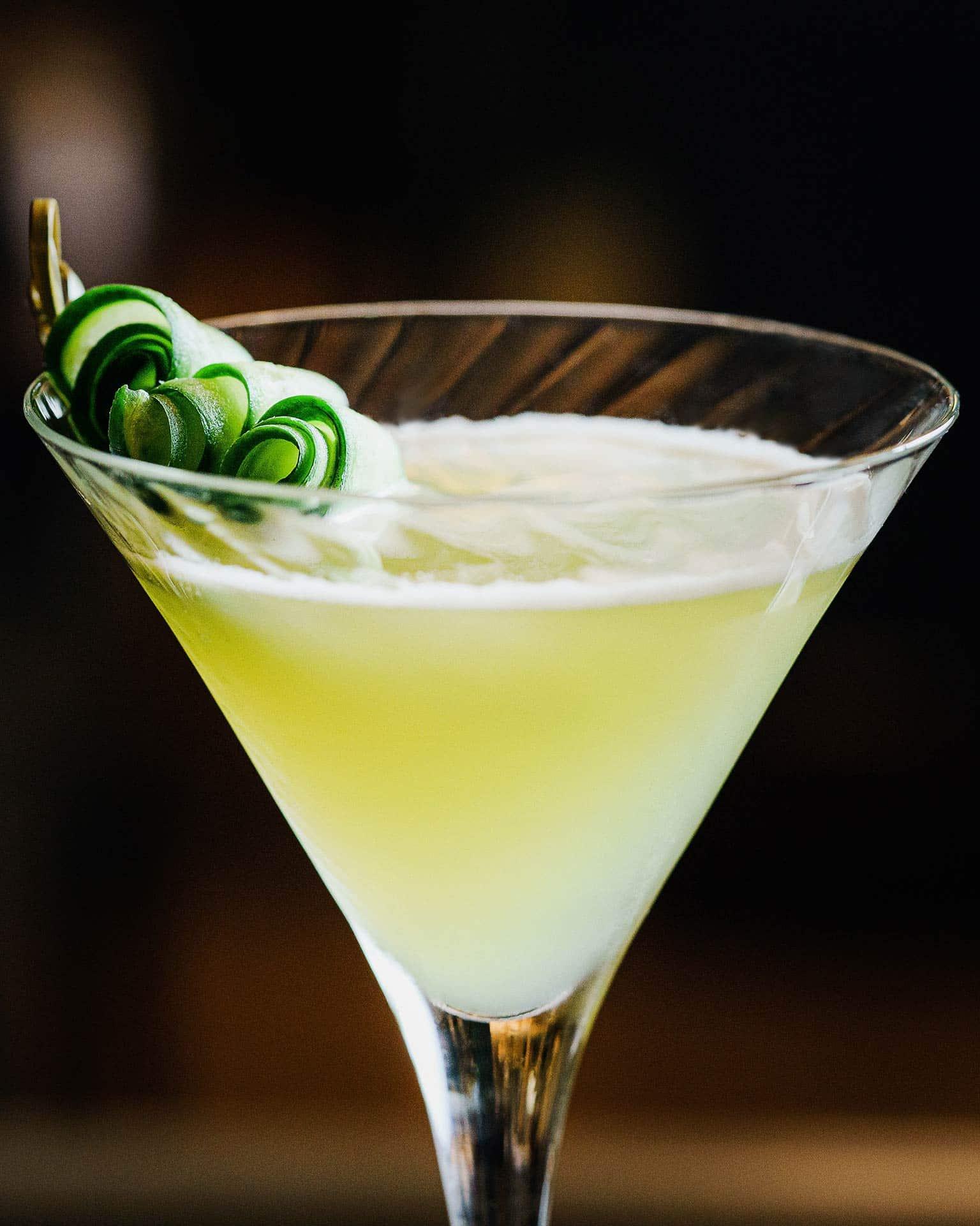 Les Cocktails créatifs du restaurant Shiro à Paris