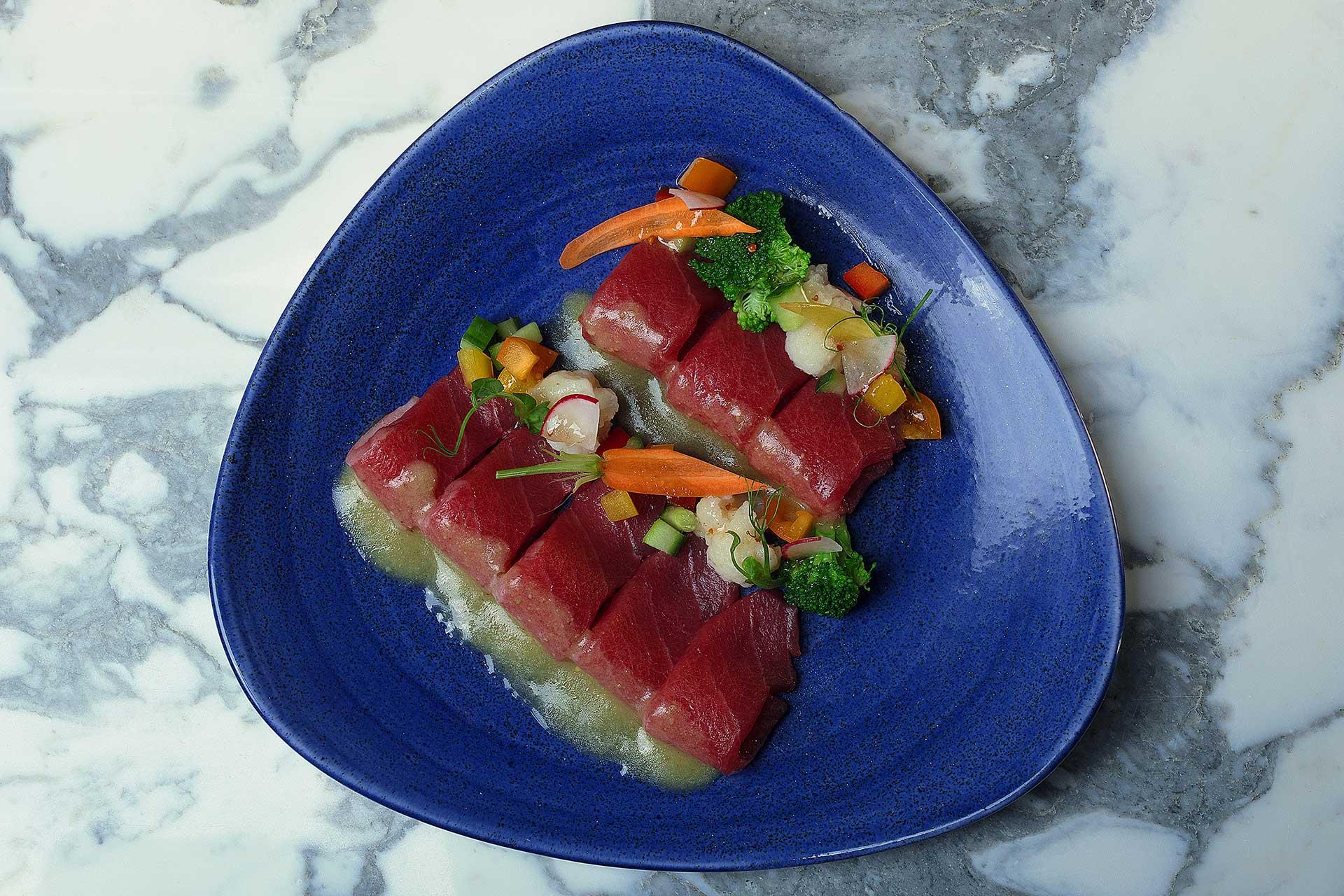 Le restaurant Shiro propose un éventail de saveur entre France et Japon